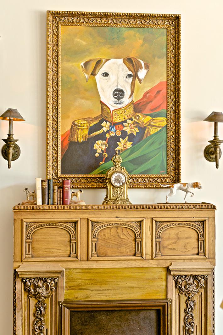 El perro cuadro