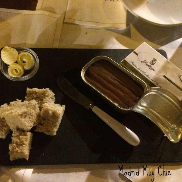 Taberna pedraza anchoas