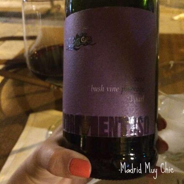Taberna pedraza vino