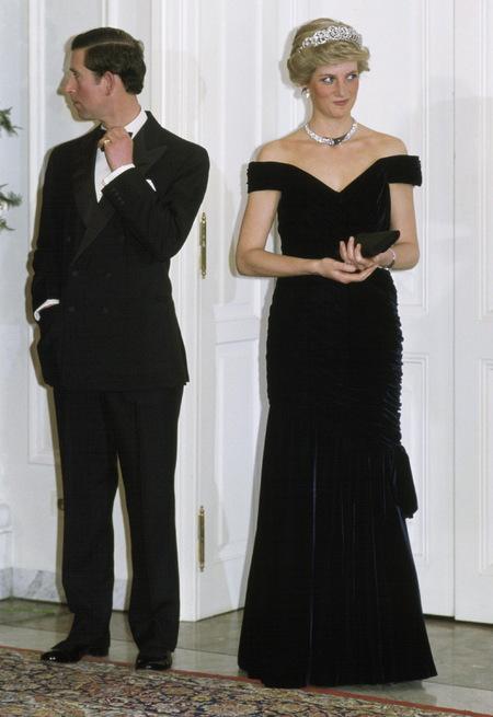 El vestido de Edelstein que repetiría en otras ocasiones