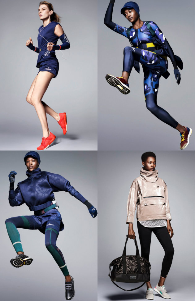 collage adidas by stella