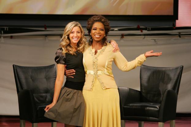 Sara Blakely y Oprah, dos mujeres de éxito