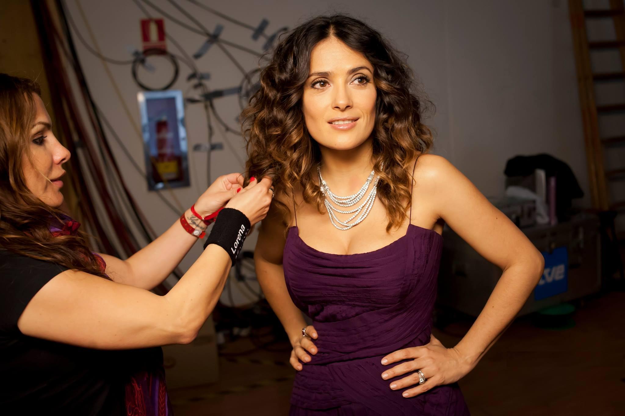 La mexicana Salma Hayek es otra de sus clientes