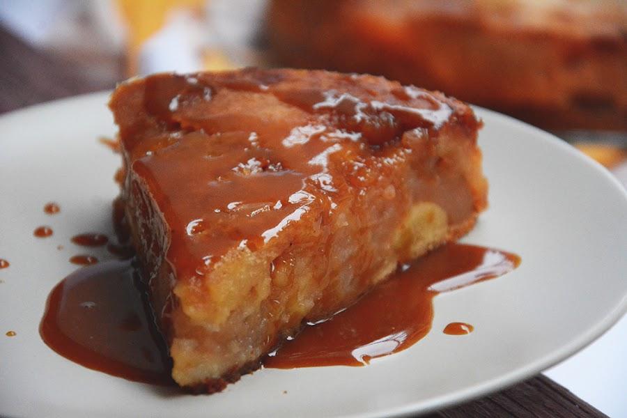 Degustación de tartas.  Nuestra favorita la Tatin!