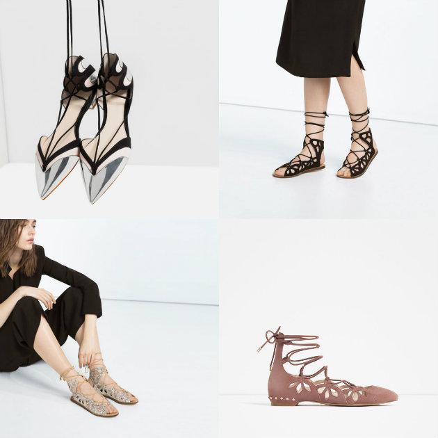 collage sandalias