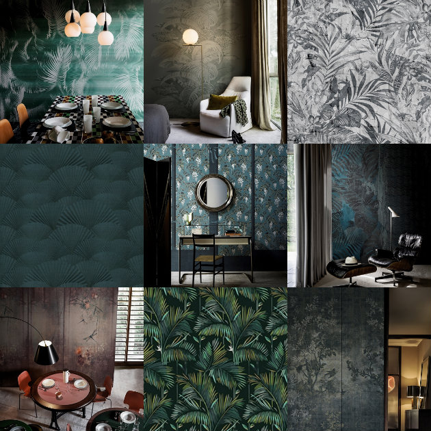 collage wall & deco