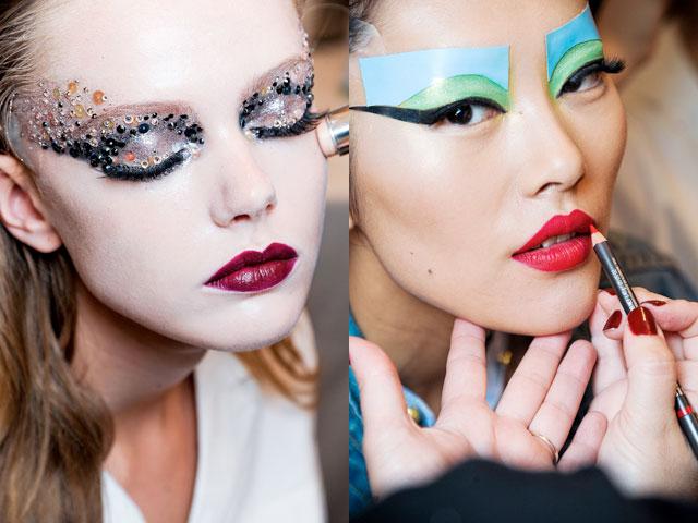 El eyeliner en pegatina de Dior, un clásico de las pasarelas