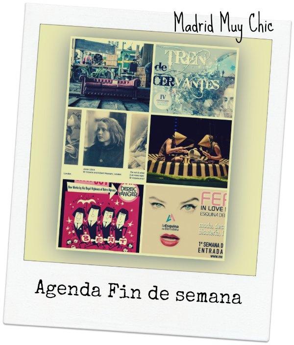 AGENDA FIN DE SEMANA 9-10 ABRIL