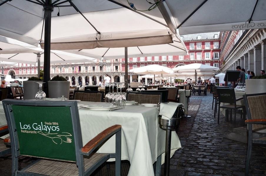 En plena Plaza Mayor no nos olvidemos del restaurante centenario Los Galayos
