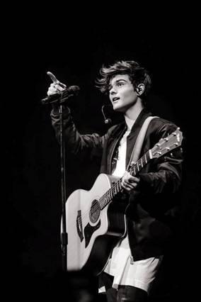 El cantante Abraham Mateo, la joven promesa del pop.