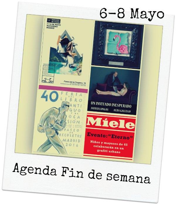 AGENDA FIN DE SEMANA 6-8 MAYO