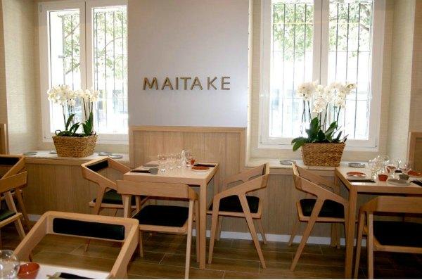 retaurante japones maitake comedor