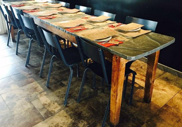 mesa comedor tolix