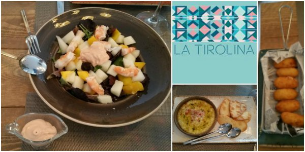 La tirolina collage food