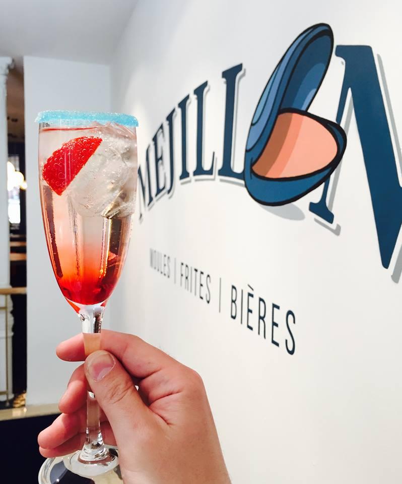 Mejillon y cocktails