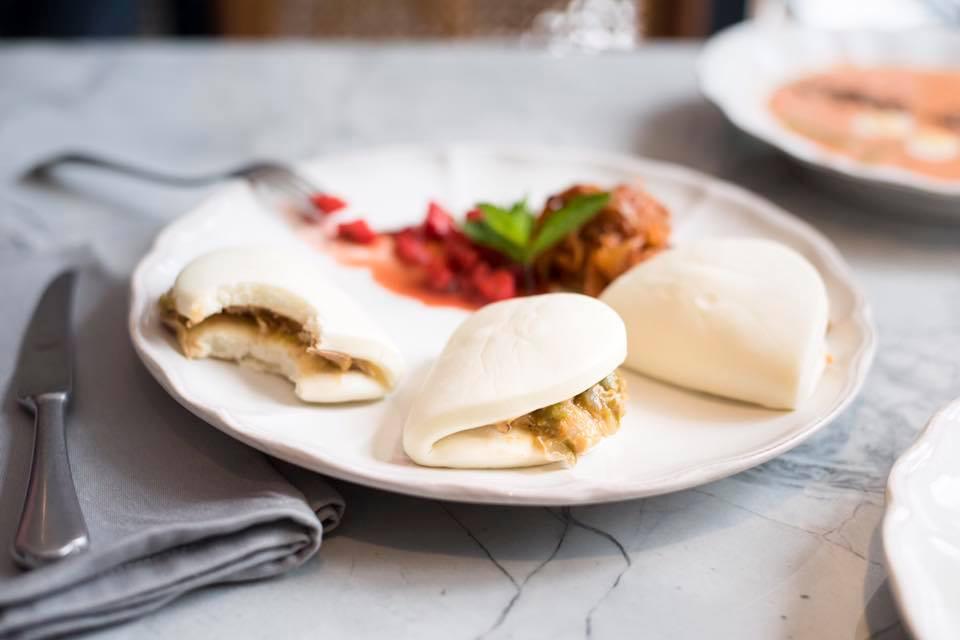 Los bocadillos más de moda son en pan bao. ¿A que te encantan?