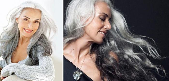 El aspecto del pelo importa a cualquier edad. ¡Que se lo digan a la top internacional Yasmina Rossi! Mirad qué melenón