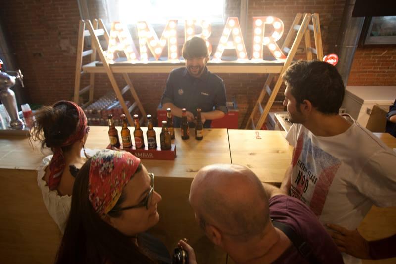 Las cervezas gourmet Ambar maridarán las propuestas gastronómicas