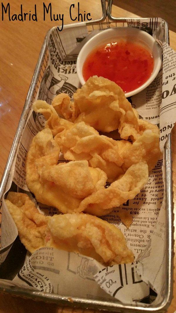 Sensacional el Crab Rangoon