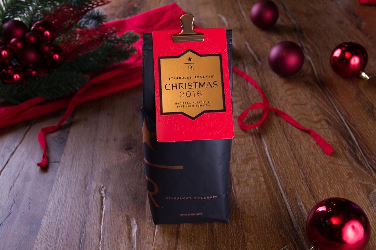 Christmas blend creado para este año por Starbucks