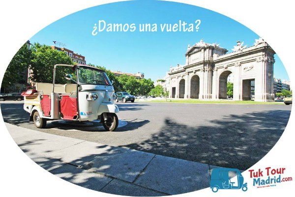 TUK TOUR MADRID, UN PASEO DIFERENTE POR LA CAPITAL